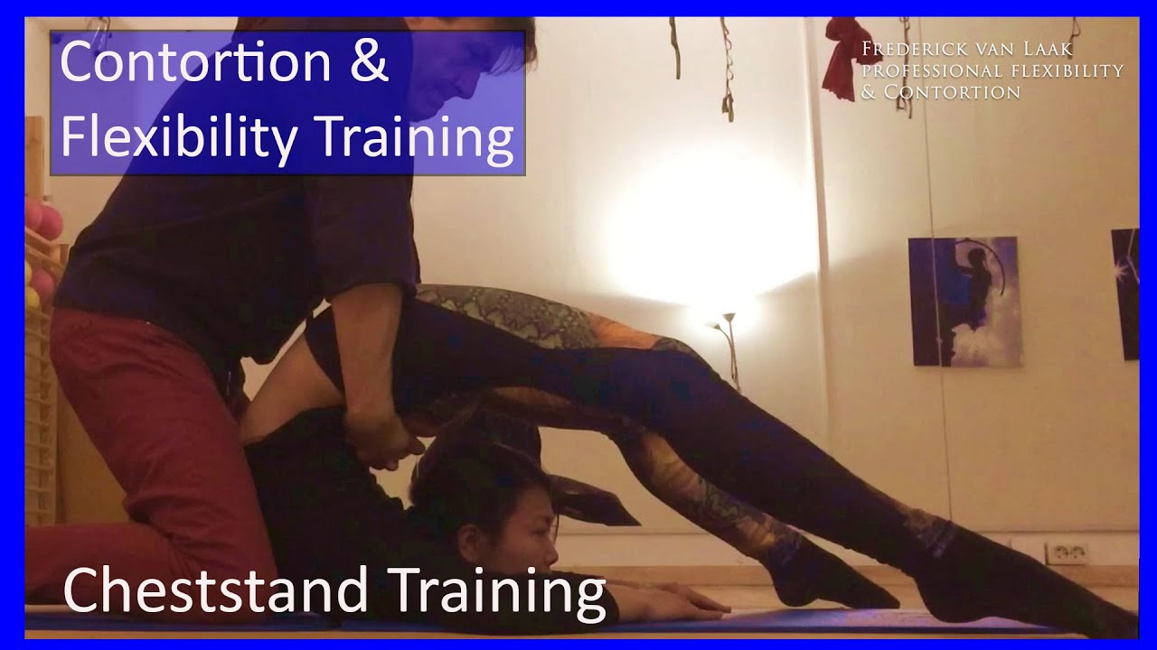 38 Frederick van Laak Contortion: Cheststand Training  - Also for Yoga, Pole, Ballet, Dance People
