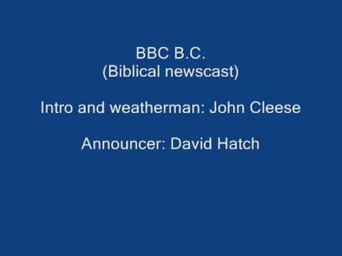 BBC B.C. (Biblical newscast) - with John Cleese - Cambridge Circus, 1963