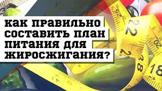 Как правильно составить план питания для жиросжигания? #DarkFit