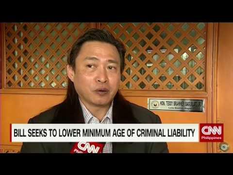 Bill seeks to lower minimum age of criminal liability
