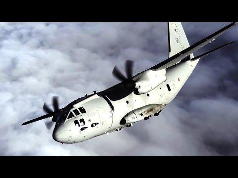 Alenia Aermacchi - C-27J Spartan Multi-Role Military Transport Aircraft [1080p]