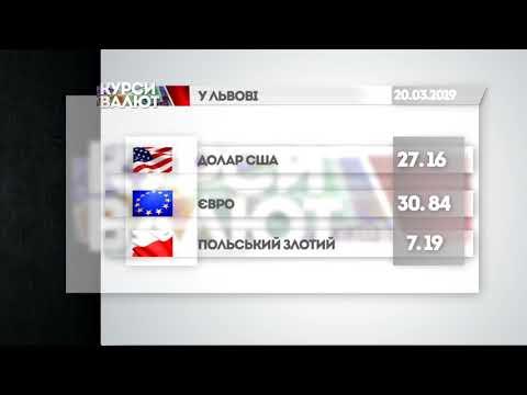 НТА - Незалежне телевізійне агентство: Курси валюти та прогноз погоди на 21 березня