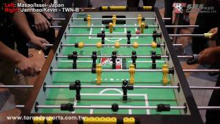 Taiwan B vs Japan 2nd Match game-2 - 2010 Taiwan Foosball International