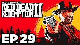Red Dead Redemption 2 Ep.29 - STEALING WAGON FROM SEAMUS'S COUSIN BY MARRIAGE! (Gameplay Let's Play) Video
