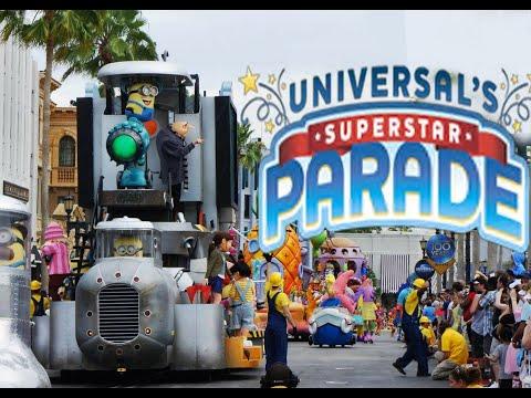 Universal Orlando Florida Superstar Parade 2018