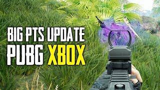 PUBG Xbox - HUGE Test Server Update! (Playerunknown's Battlegrounds)