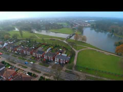 Drone Over East Park, Kingston Upon Hull