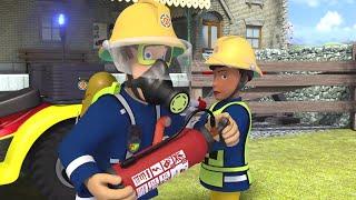 Požárník Sam nové díly | Sam bojuje proti ohni - Nejlepší záchrany 🚒🔥Karikatura Pro Děti