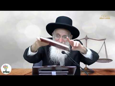 הרב יהודה יוספי - פרשת ראה HD - שידור חי