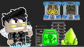 BUILDING A BFG WORLD! (SPENT 40 DLS?!) - Growtopia
