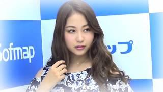 Iカップ爆乳グラドル・西田麻衣ちゃんが、東京・秋葉原のソフマップで...