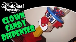 Make A Clown Candy Dispenser - Fun Woodworking Project For Kids