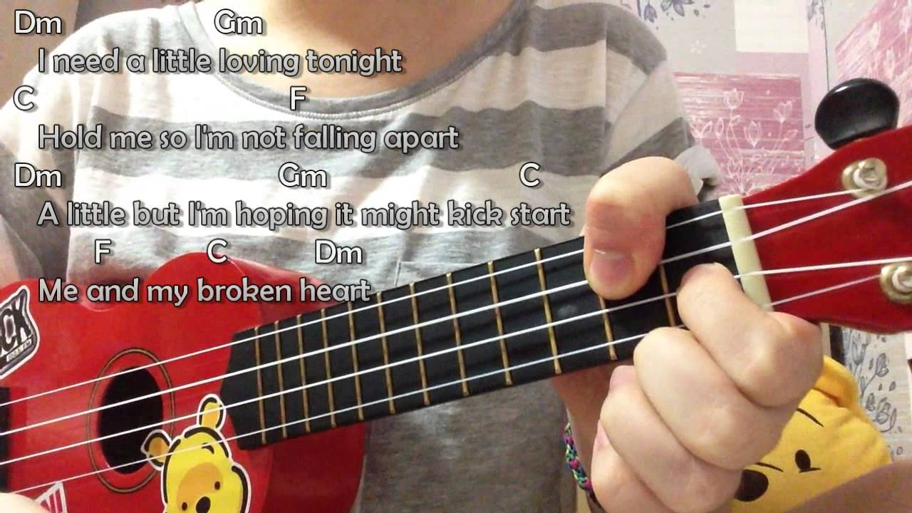 Me And My Broken Heart Rixton Ukulele Tutorial With Chords And