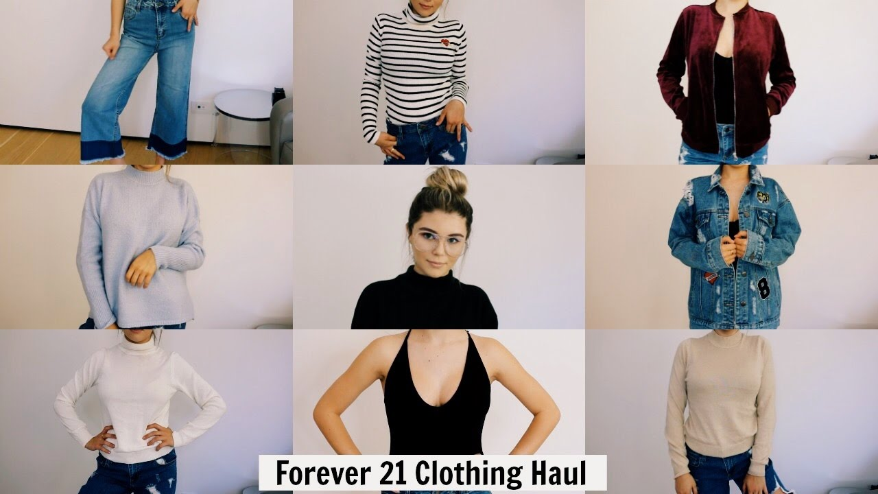 Blue and Forever 21