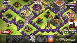 Attacchi clash royale ITA: 3 stelle e clash of clans 2 stelle