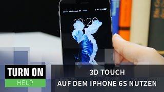 3D Touch auf dem iPhone 6s nutzen - HELP - 4K