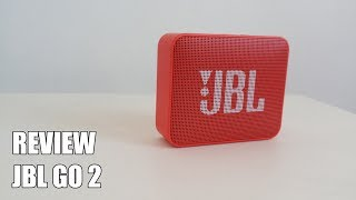 Review JBL GO 2 Nuevo altavoz Bluetooth portatil 2018
