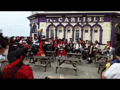 Pirate Day band Hastings 2016