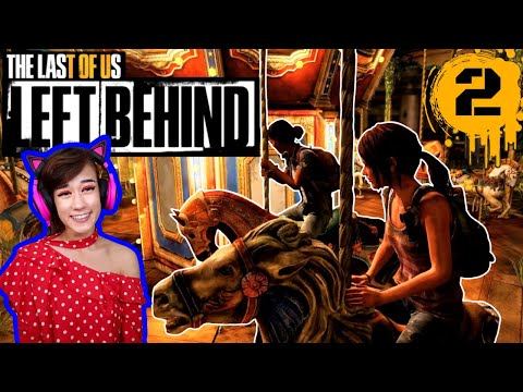 Ellie's first Merry-Go-Round ride! - The Last of Us: Left Behind Part 2 - Tofu Plays