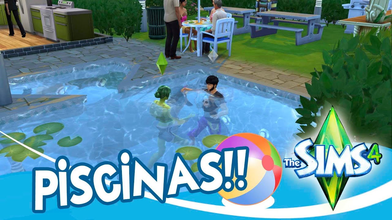 Piscinas en los sims 4 youtube for Piscina sims 4