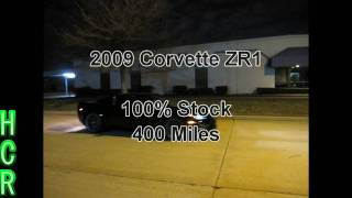 2009 Corvette ZR1 vs 2007 Corvette Z06 (Supercharged)