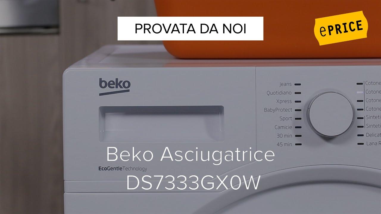 Video Recensione Asciugatrice Beko DS7333GX0W - YouTube