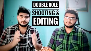 FILMORA 9 | HOW TO SHOOT & EDIT DOUBLE ROLE VIDEO | CLONE YOURSELF | MASKING TUTORIAL [HINDI]..!!!