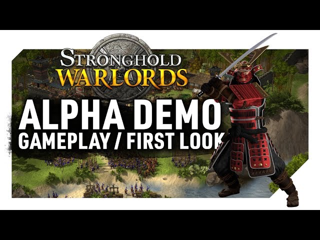 Stronghold: Warlords | Demo Gameplay/First Look