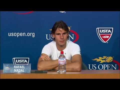 2009 US Open Press Conferences: Rafael Nadal (Semifinals)