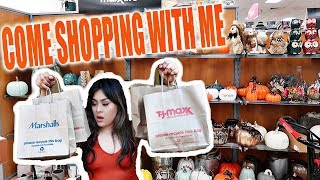 Shop With ME TJMAXX! FALL AFFORDABLE DECOR HAUL!