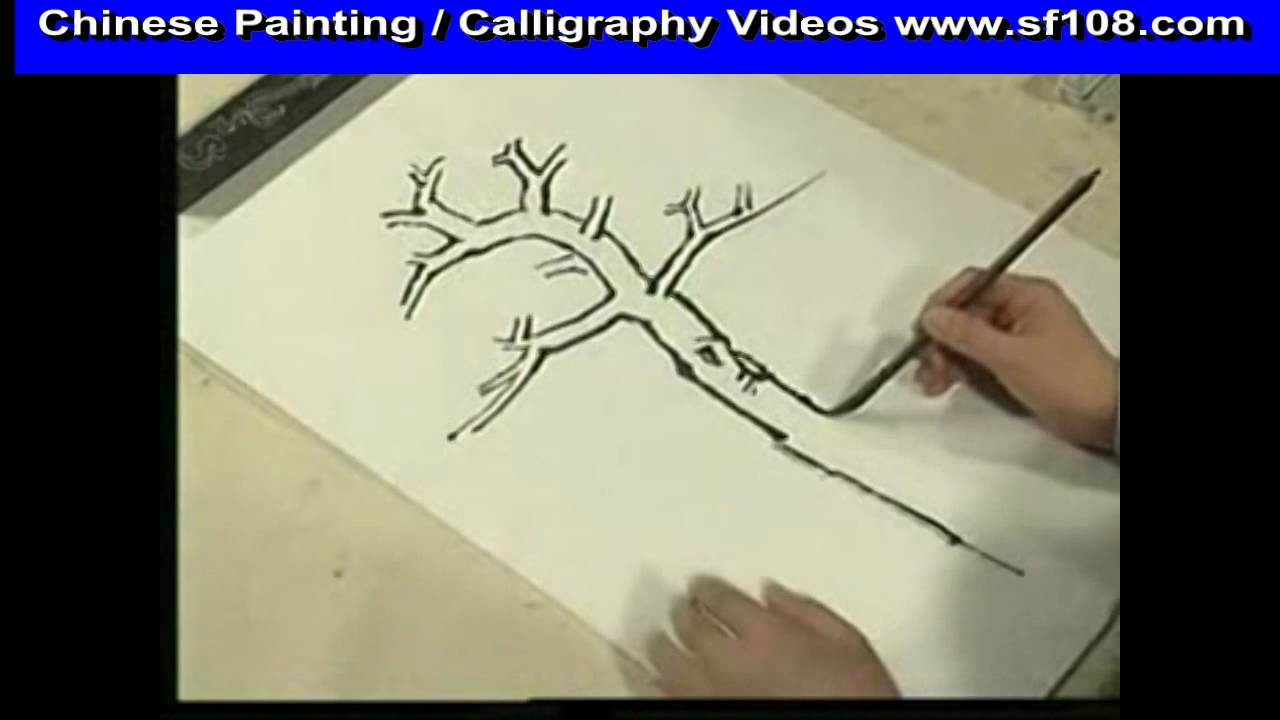 pinetree chinese painting lessons for beginners part 5 youtube. Black Bedroom Furniture Sets. Home Design Ideas