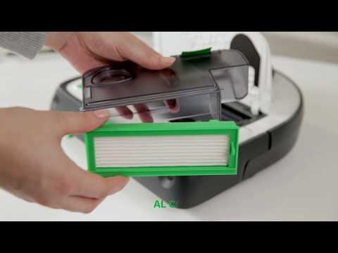 Nuovo Robot Aspirapolvere Folletto VR300 - Primo utilizzo