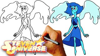 How to Draw Lapis Lazuli (Steven Universe) Kids Art Lesson