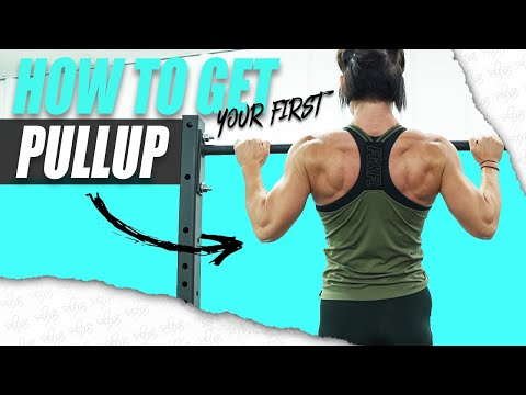 HOW TO GET YOUR FIRST PULLUP   (Step By Step Progression)