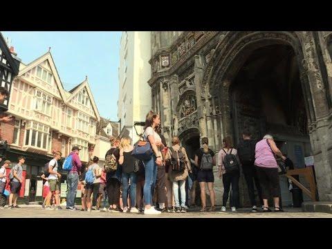 AFP: A Canterbury, la rébellion dans les urnes contre le Brexit
