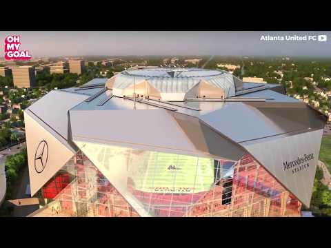 The new Atlanta stadium will blow your mind!