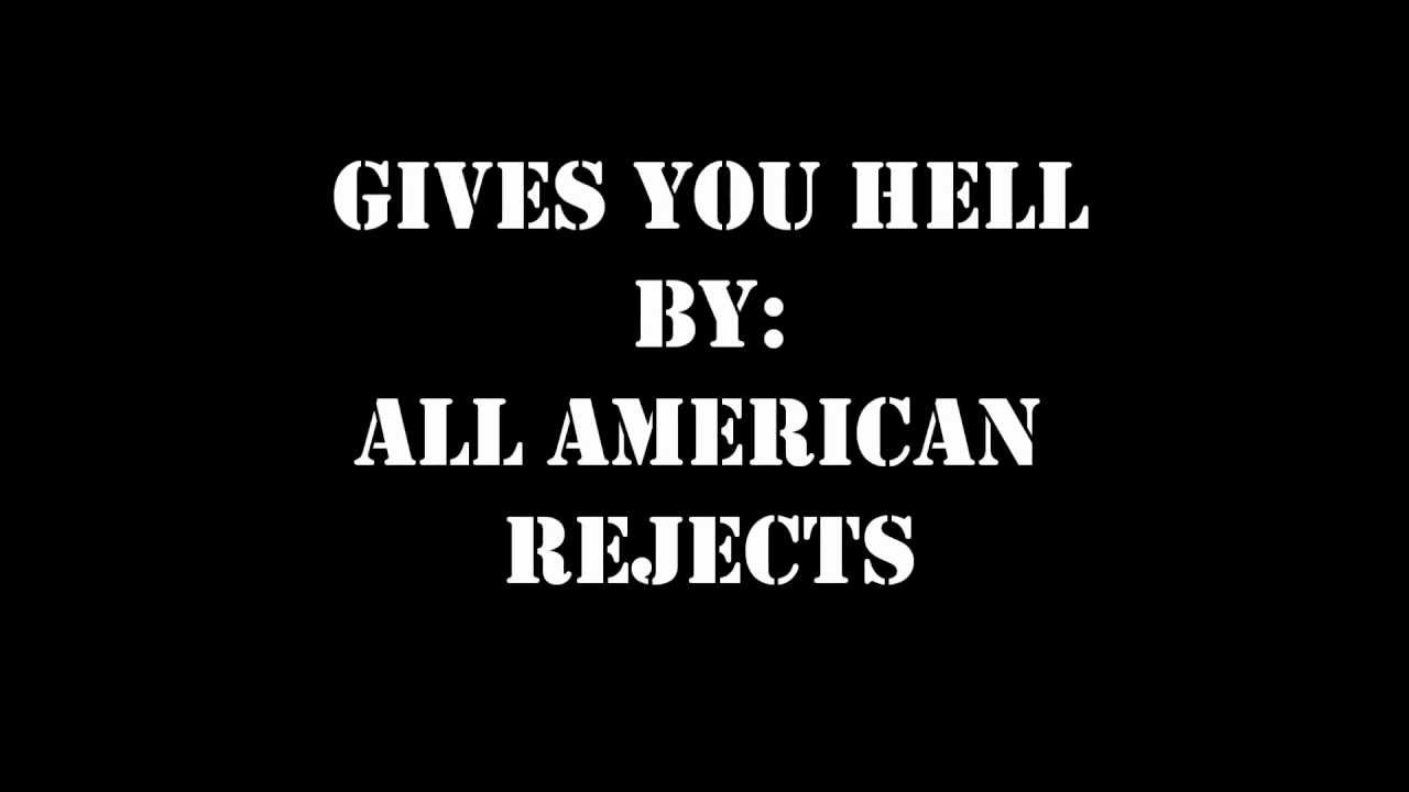 Gives You Hell All-American Rejects MIDI File