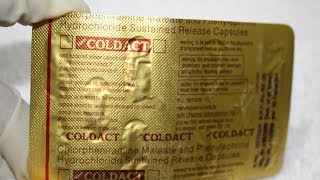 Coldact Capsule Review IN HINDI/ USES SIDE EFFECTS