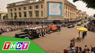 Linh cữu Nguyên Tổng Bí thư Đỗ Mười được rước qua các tuyến phố | THDT