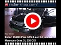 Radardetector Escort 8500Ci Plus in a Mercedes GL320