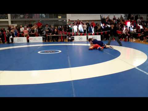 2015 Senior National Championships: 60 Kg Bronze Jessica Brouillette Vs. Emma Horner