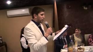 Ведущий Павел Кондратьев  Песня импровизация на свадьбе Олега и Светы