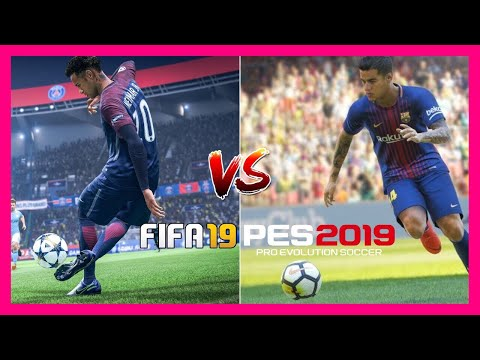 PES 19 Vs FIFA 19 | GAMEPLAY COMPARISONS (SHOOTING, CELEBRATIONS & MORE)