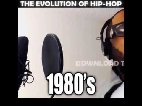 The way hip hop has changed