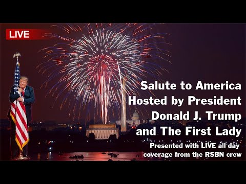 🔴SALUTE TO AMERICA Independence Day Celebration Hosted by President Trump