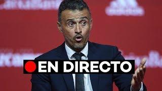 En directo: Luis Enrique ofrece su primera lista de jugadores como seleccionador de España