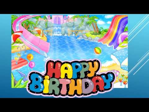 Aarushs 3rd birthday pool party invitation youtube aarushs 3rd birthday pool party invitation filmwisefo