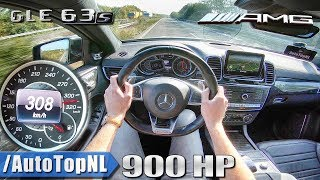 900HP MERCEDES GLE 63 AMG 308km/h AUTOBAHN POV by AutoTopNL