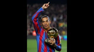 Barcelona Legends Vs Manchester United Legends | Ronaldinho All Goals 1-3 Extend