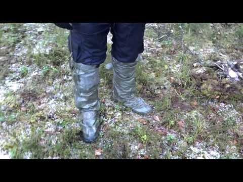 Поход по Налибокской пуще, Беларусь, часть 6, о бахилах от ОЗК